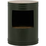 By Boo Sidetable Barrel - green