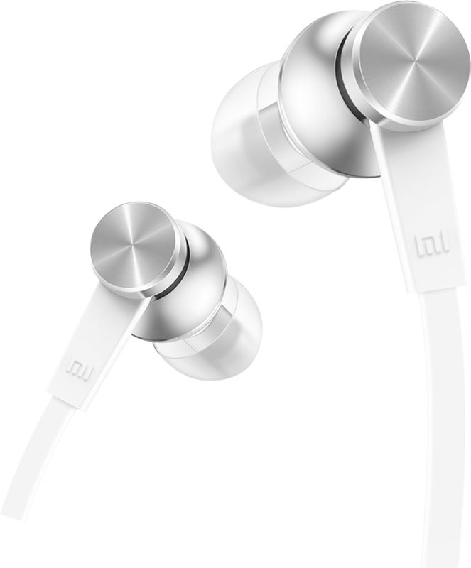 Xiaomi Mi In-Ear Headphones Basic wit, zilver