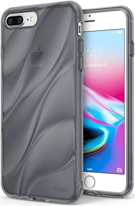 fa6d29a5025 Ringke Flow iPhone 7 Plus / 8 Plus Hoesje Smoke Black