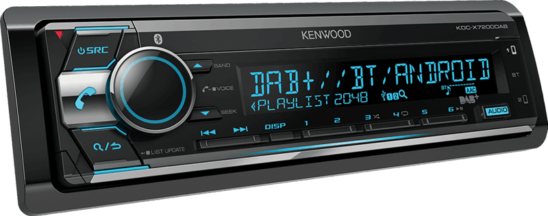 Kenwood audio KDC-X7200DAB
