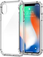 Rugged Cases Rugged - Iphone X - hoesje transparant - Crystal Clear