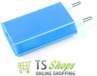 Qatrixx USB mini charger Reislader Light Blue/Licht Blauw