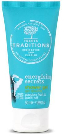 Treets Energising secrets showergel mini 50 ML