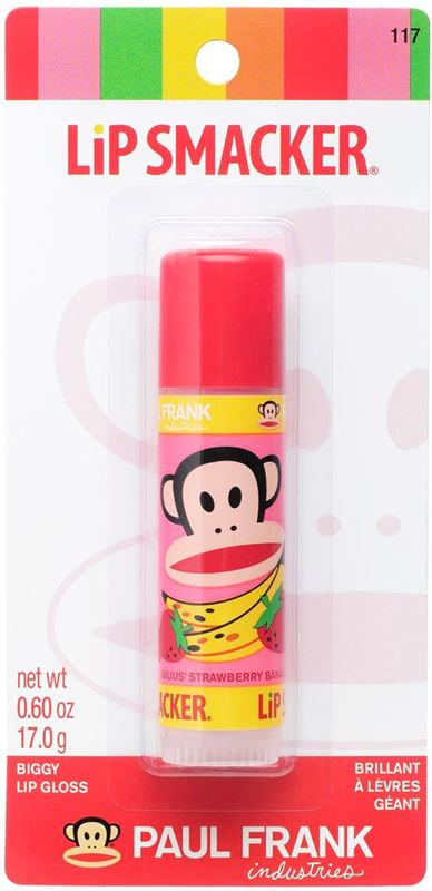 Paul Frank Lipsmackers Lipgloss - Strawberry Banana