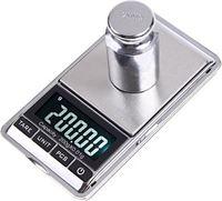 AA Commerce Digitale Mini Pocket Keuken Precisie Weegschaal - 0 01 tot 200 Gram - Zakweegschaal