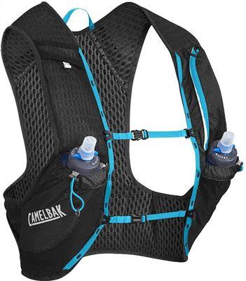 a32c6d96c33 CamelBak Nano 17 Drinkrugzak with Quick Stow Flask zwart S 2018 Hydratatie  vest riemen