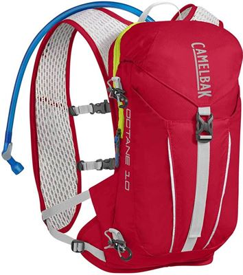 854c388ed5e CamelBak Run Walk Octane 10 red lime Rugzak Rood
