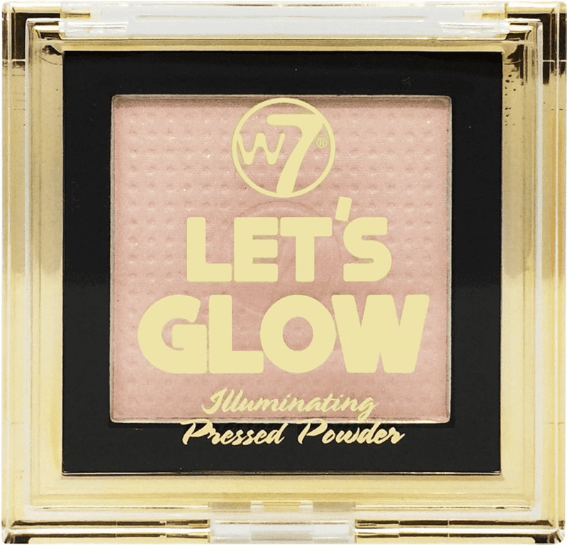 W7 Let s Glow - Illuminating Pressed Powder Highlighter 6g