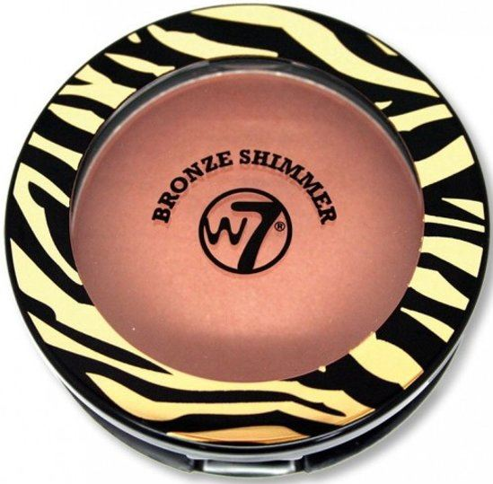 W7 Compact Shimmer Bronzer 14 g