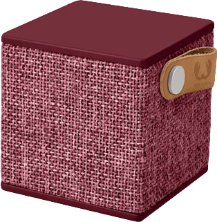 Fresh 'n Rebel Rockbox Cube Fabriq Edition rood