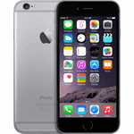 Apple Refurbished iPhone 6 - 64GB - Spacegrijs 64 GB / grijs / refurbished