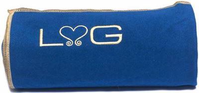 41562b194a7ce4 Love Generation - Love Yogatowel - Fitnesstowel - 185 cm x 70 cm - Blauw -  Anti Slip Microvezel