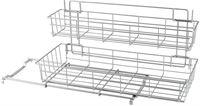 Metaltex   Tomado Keukenkast opbergsysteem LIMPIO met 2 uitschuifbare manden