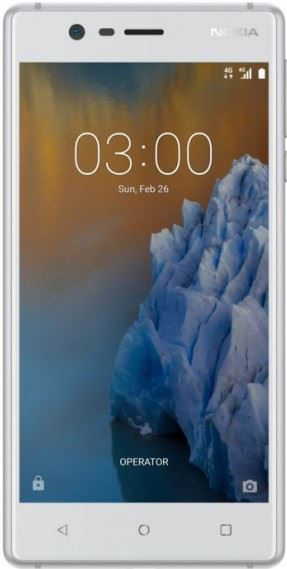 Nokia 3 16 GB / wit, zilver