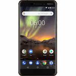 Nokia 6.1 32 GB / koper, zwart / (dualsim)