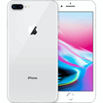 Apple iPhone 8 Plus zilver / 256 GB