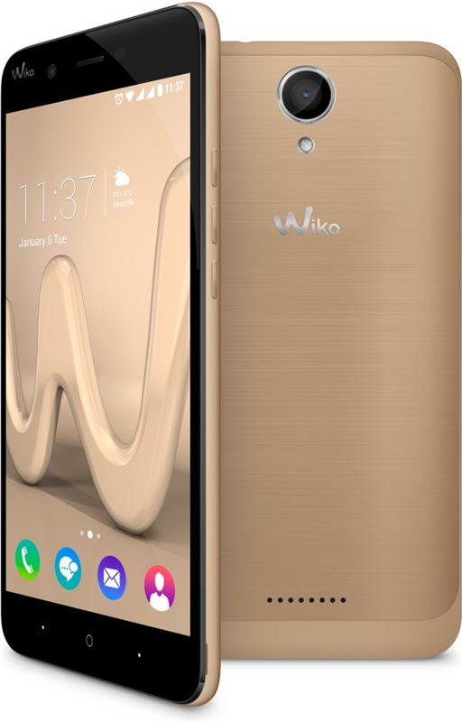 WIKO Harry 16 GB / goud / (dualsim)