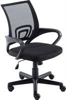 Clp Genius - bureaustoel - netbekleding - zwart