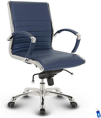Luxe Leren Bureaustoel.Lincoln By Quadrata Bureaustoel Lincoln Relax Design Lage