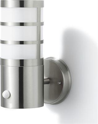 Buitenlamp Met Sensor Gamma.Gamma Buitenlamp Leeds Rvs Met Bewegingssensor E27 15w Kopen