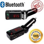 siston® Bluetooth Handsfree Carkit + FM Transmitter