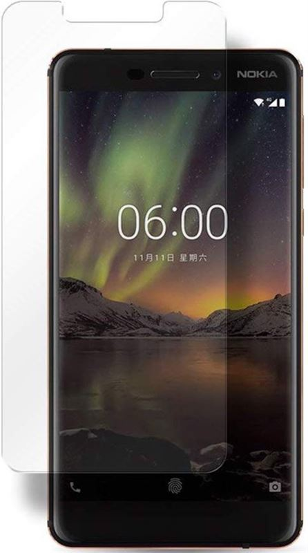 iCall Screenprotector voor Nokia 6.1 Nokia 6 2018 Tempered Glass Glazen Screen Protector 2.5D 9H