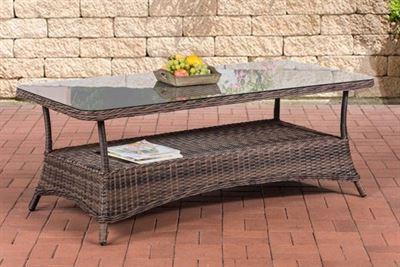 Tafel Hoogte 60 Cm.Clp Design Outdoor Lounge Tafel Pandora Hoogte 60 Cm 5 Mm Rotan