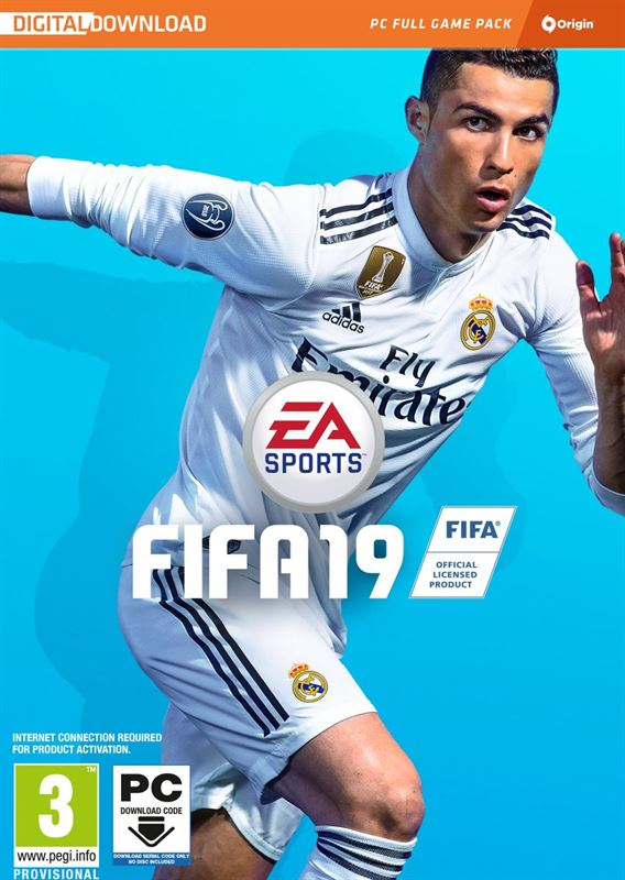 Electronic Arts FIFA 19 - Code in a Box - Windows PC