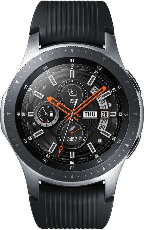 Samsung Galaxy Watch 46 mm Silver zwart