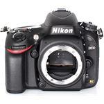 Nikon D610 zwart