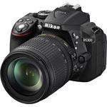 Nikon D5300 + AF-S DX NIKKOR 18-105mm zwart
