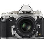Nikon DF + AF-S NIKKOR 50mm zilver