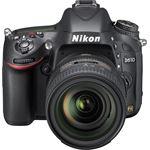 Nikon D610 + AF-S NIKKOR 24-85mm zwart