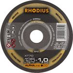 Rhodius XT70 doorslijpschijf 125 x 1 0 mm