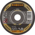 Rhodius XT70 doorslijpschijf 125 x 1 5 mm