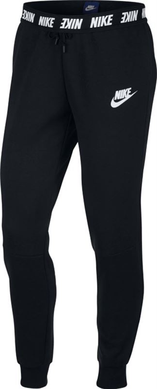 Joggingbroek Voor Dames.Nike Sportswear Advance 15 Pant Joggingbroek Dames Black White