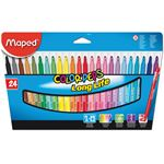 Maped Color peps goed uitwasbare viltstift x 24