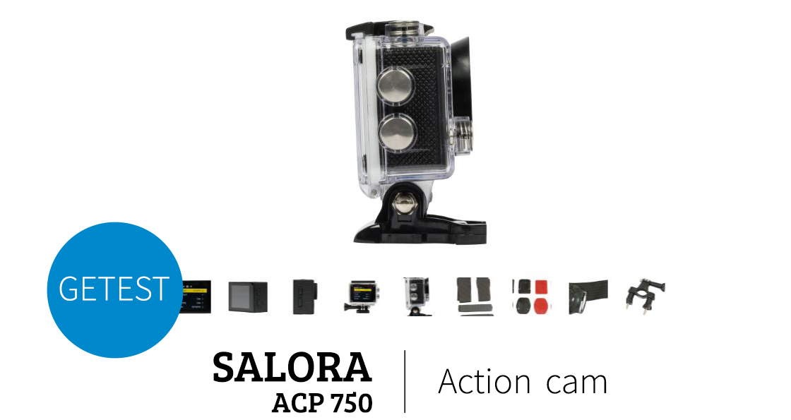 Salora acp750 actioncam header