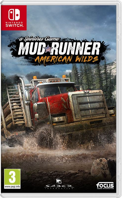 Focus Multimedia Spintires Mud Runner American Wilds