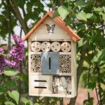 Relaxdays - insectenhuis butterfly - vlinder - insectenhotel - bijen huis - tuin