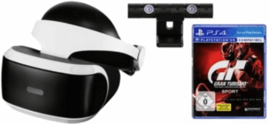 Sony Playstation VR inclusief Camera / VR Worlds / GT Sport