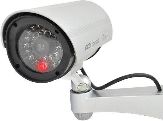 Outdoor dummy camera draadloze nepcamera met led verlichting