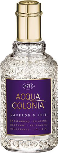 4711 Acqua Colonia Saffron Iris eau de cologne spray 50 ml