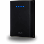 Azuri Power Bank 6000 mAh - zwart