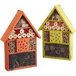 Relaxdays - insectenhotel - insecten huis - vlinders - bijen - overwinteren tuin groen