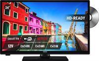 Nikkei NLD24MSMART Mobile TV LED 24 inch DVB-T2 met DVD speler