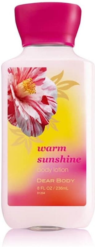 Bodyluxuries Body Lotion Warm Sunshine 236ml