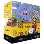 Nintendo Wii U + Super Mario Maker + amiibo zwart