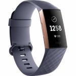 Fitbit Charge 3 blauw, grijs, roze goud / S|L