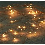 Anna's Collection CBD Cascade koperdraad 400 LED 20 x 2 m Classic warm Kerstverlichting